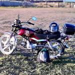 Китайский мопед — мотоцикл