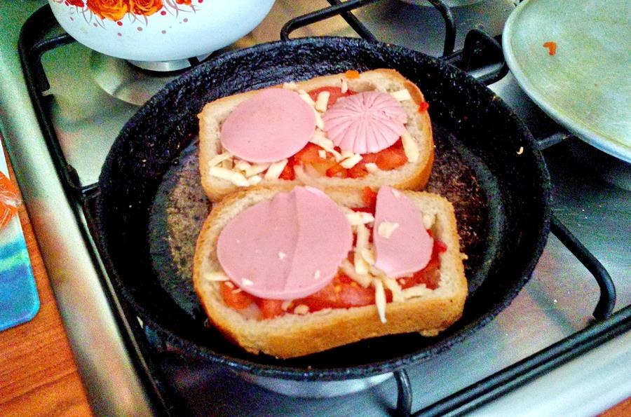 Как быстро сделать бутерброды